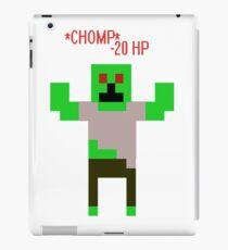 *CHOMP* A Zombie! iPad Case/Skin