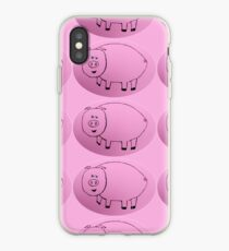 Pig - Cochon - Martin Boisvert iPhone Case