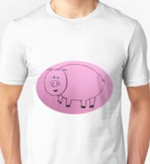 Pig - Cochon - Martin Boisvert Unisex T-Shirt