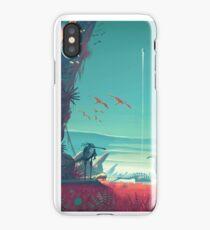 Space landscape iPhone Case/Skin
