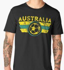 Australia Football Jersey Shirt World Cup Soccer Aussie Socceroos Men's Premium T-Shirt