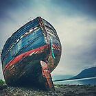Abandoned Shipwreck in Scotland by EddieCloud