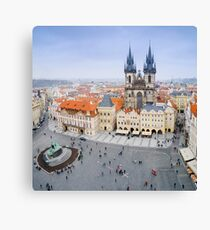 Old Town Square, Prague, Czech Republic Canvas Print