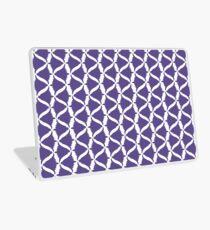Ultra Violet Purple Bell Flower Meadow Bellflower (to Match Set) Laptop Skin