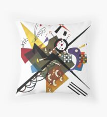 Kandinsky 1923, Sur Blanc Throw Pillow