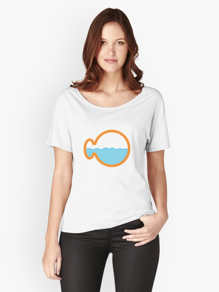 Fishception Women's Relaxed Fit T-Shirt Front