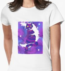 Grinning Cat Variation 2 Women's Fitted T-Shirt