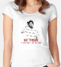 RIP Fredo Santana Women's Fitted Scoop T-Shirt