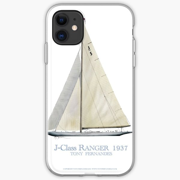 J-Class Ranger 1937, tony fernandes iPhone Soft Case