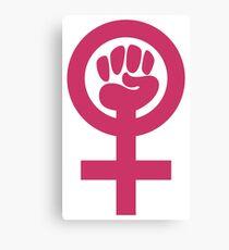 Feminist Symbol Canvas Print
