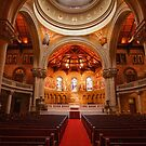 Memorial Church Interior at Stanford University by Hotaik  Sung