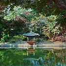 Pond at Secret Garden at Changdeokgung Palace, Seoul  by Hotaik  Sung