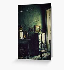 Belvoir castle bedroom Greeting Card