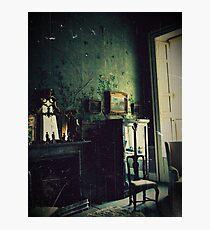 Belvoir castle bedroom Photographic Print