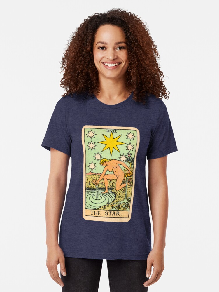 Alternative Ansicht von Tarot - Der Stern Vintage T-Shirt