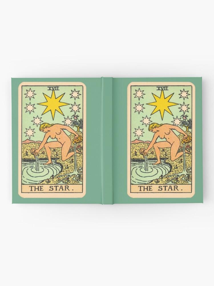 Alternative Ansicht von Tarot - Der Stern Notizbuch