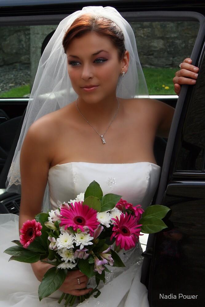 bride, wedding by Nadia Power