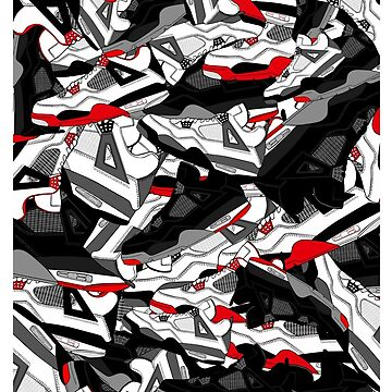 Jordan 4 Artwork by tee4daily