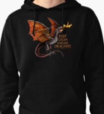 Drogon (Game of Thrones) Art Print Pullover Hoodie