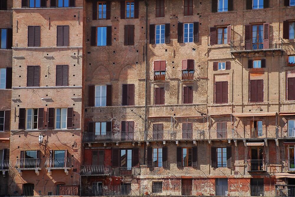 Buildings in Siena by jojobob