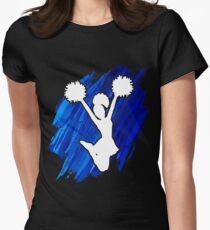 Awesome Cheerleading t shirt gift. Women's Fitted T-Shirt