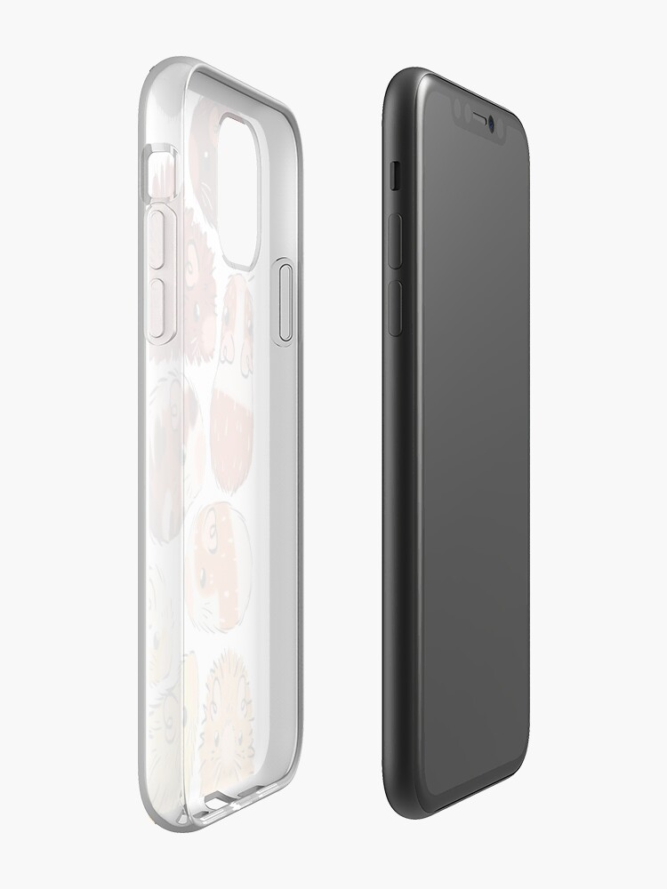 Alternate view of Guinea Pig Gradient iPhone Case & Cover