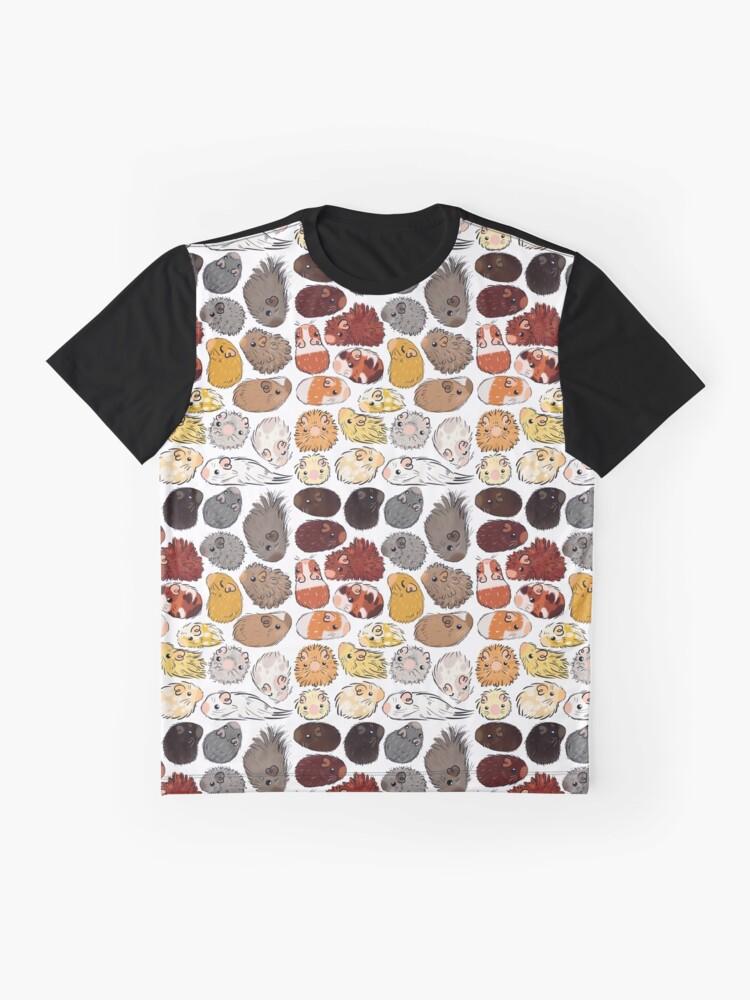Alternate view of Guinea Pig Gradient Graphic T-Shirt