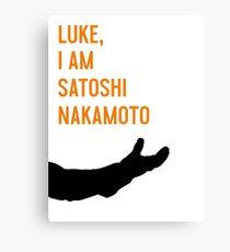 Luke, I Am Satoshi Nakamoto Canvas Print