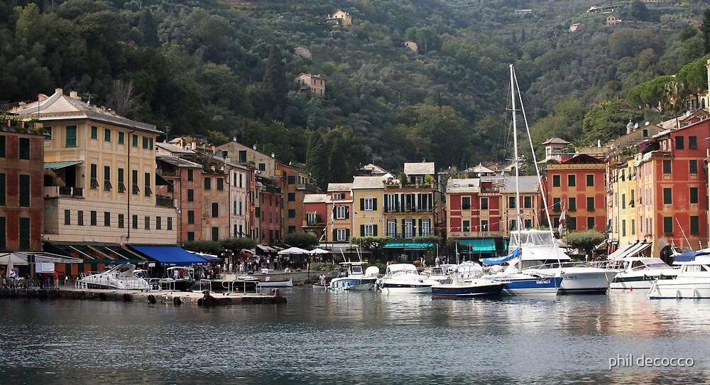 Peaceful Portofino by phil decocco