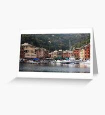Peaceful Portofino Greeting Card