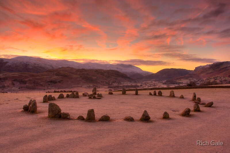 Quot Castle Rigg Stone Circle Quot By Rich Gale Redbubble