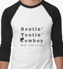 Rootin' Tooting' Cowboy Men's Baseball ¾ T-Shirt