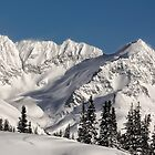 Montains near Whistler by Charles Kosina