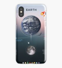 Earth Infographic iPhone Case/Skin