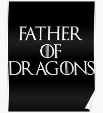 tyrion game father of dragons Poster