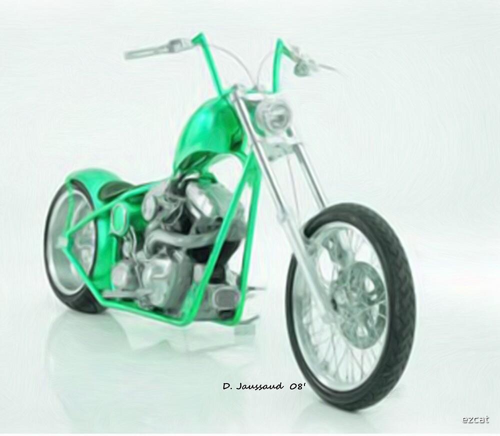 Green Bike by ezcat