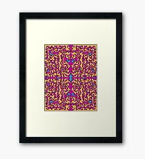 Psychedelic Flourishes I Framed Print