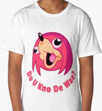 "Ugandan knuckles ""Do you know the way"" meme Long T-Shirt"