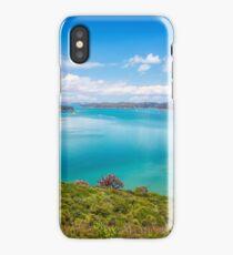 Rotoroa Island New Zealand View iPhone Case/Skin