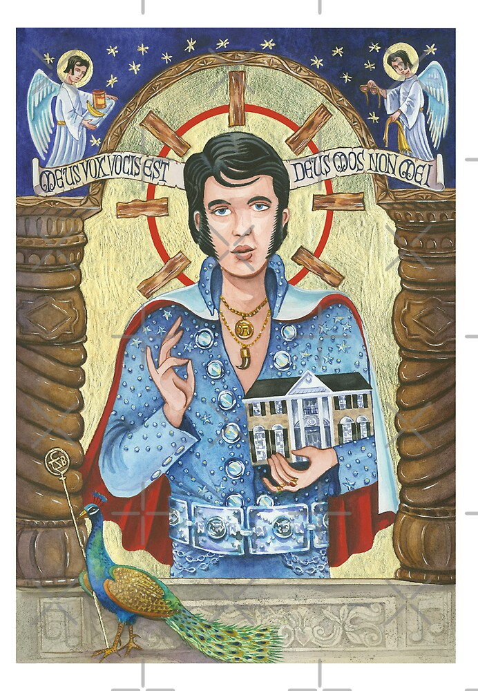 Elvis as Icon by Patti Argoff