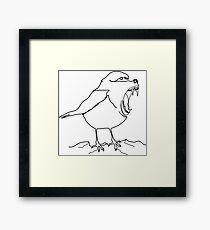 Baboon or bird Framed Print