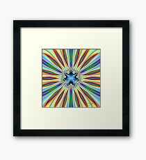 'LightFeathers and Form' Framed Print