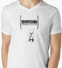Design is Love Men's V-Neck T-Shirt