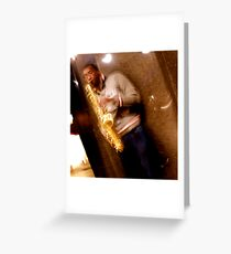Trumpet (HDR) Greeting Card