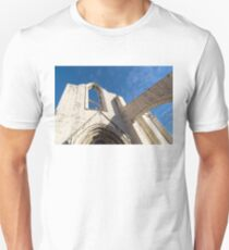 Silent Witness - Carmo Convent Roofless Ruin in Lisbon Portugal Unisex T-Shirt