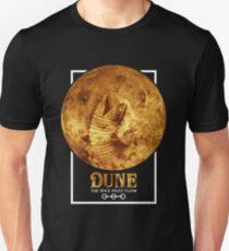 Dune - The Spice Must Flow (Sandworm - Planet) Unisex T-Shirt