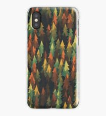 abstract art trees in the forest - phone case iPhone Case/Skin