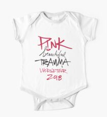 pink beautiful trauma world tour 2018 One Piece - Short Sleeve