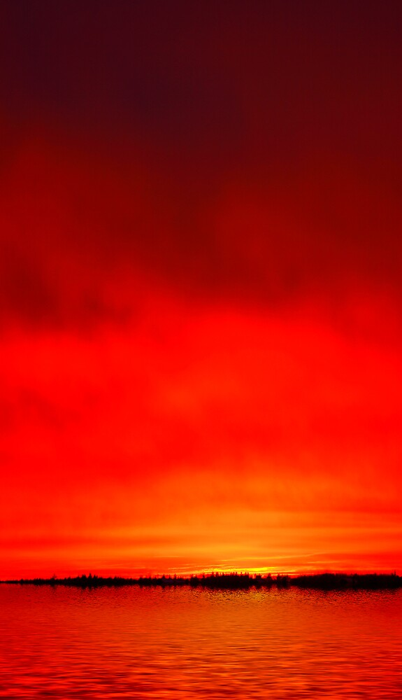 Bloody sunset by BeDeS