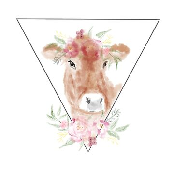 Flower Cow by ketchambr